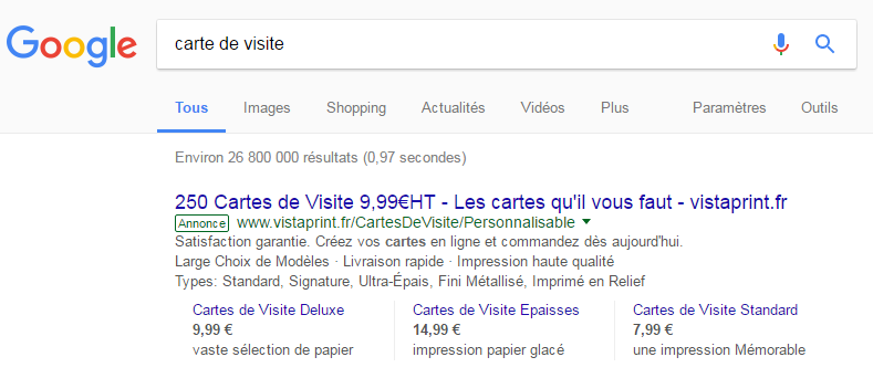 extension prix ordinateur adwords